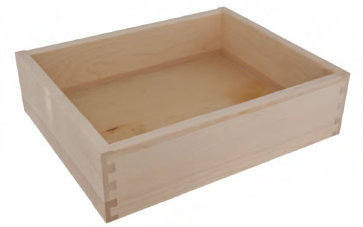 5/8 inch Hard Maple drawer box